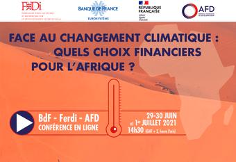 Face au changement climatique : Quels choix financiers pour l'Afrique?