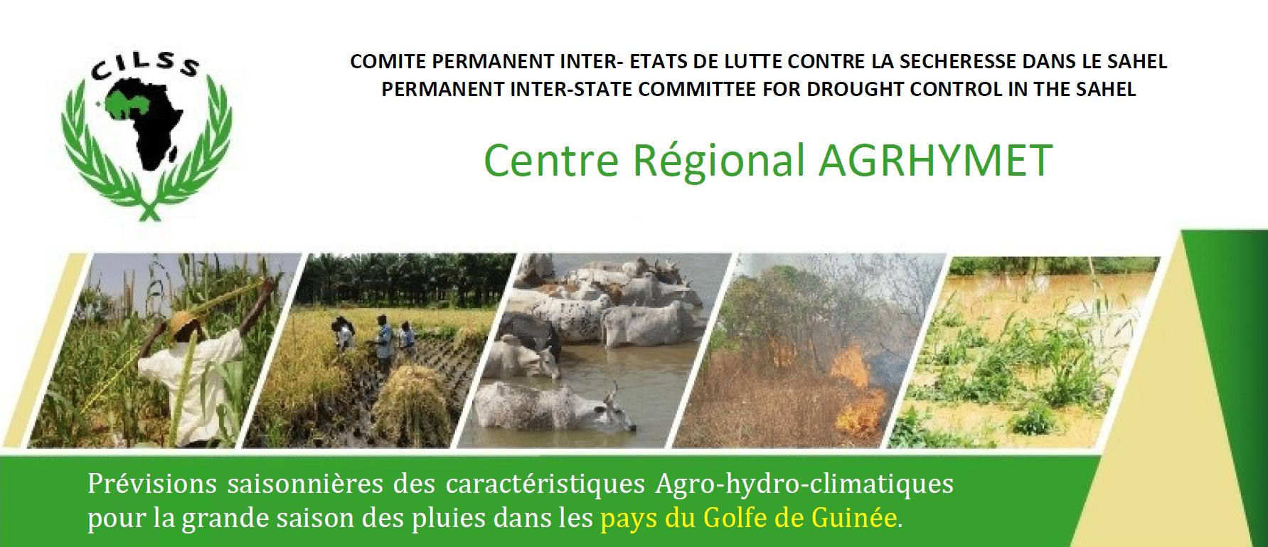 Bulletin spécial de prévision saisonnière des caractéristiques Agro-Hydro-Climatiques de la grande saison des pluies 2021 pour les pays du Golfe de Guinée