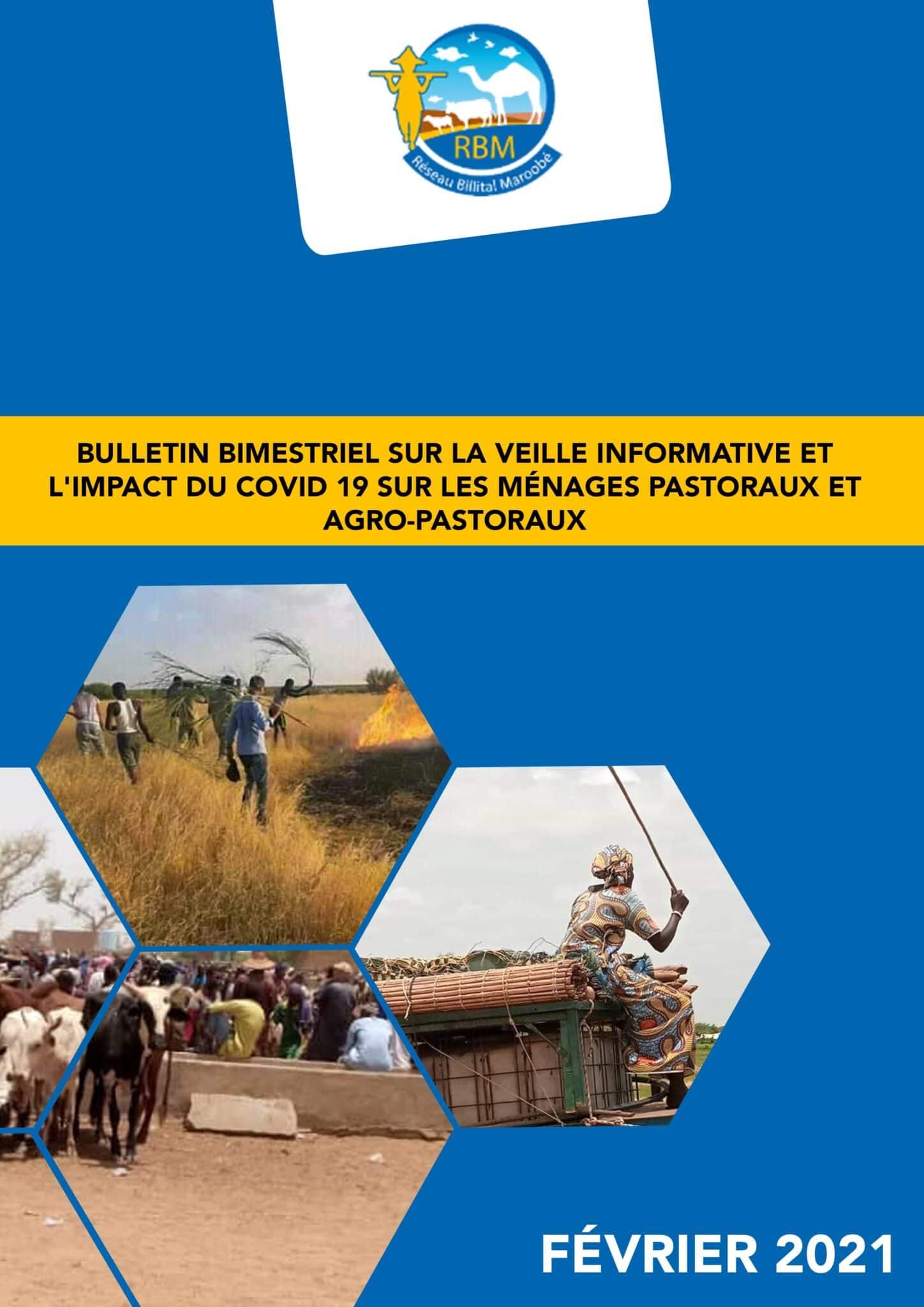Bulletin bimestriel sur le suivi de l'impact de la pandémie de la COVID 19 Janvier Fevrier 2021