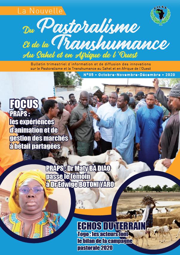 Bulletin trimestriel N°05 sur le pastoralisme