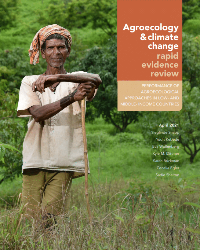 Rapport - Agroecology & climate change: rapid evidence review