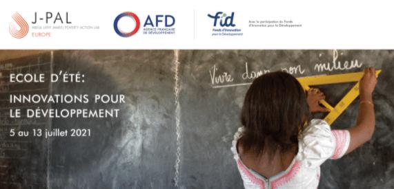 Cycle de conférences - École d'été Innovations pour le développement