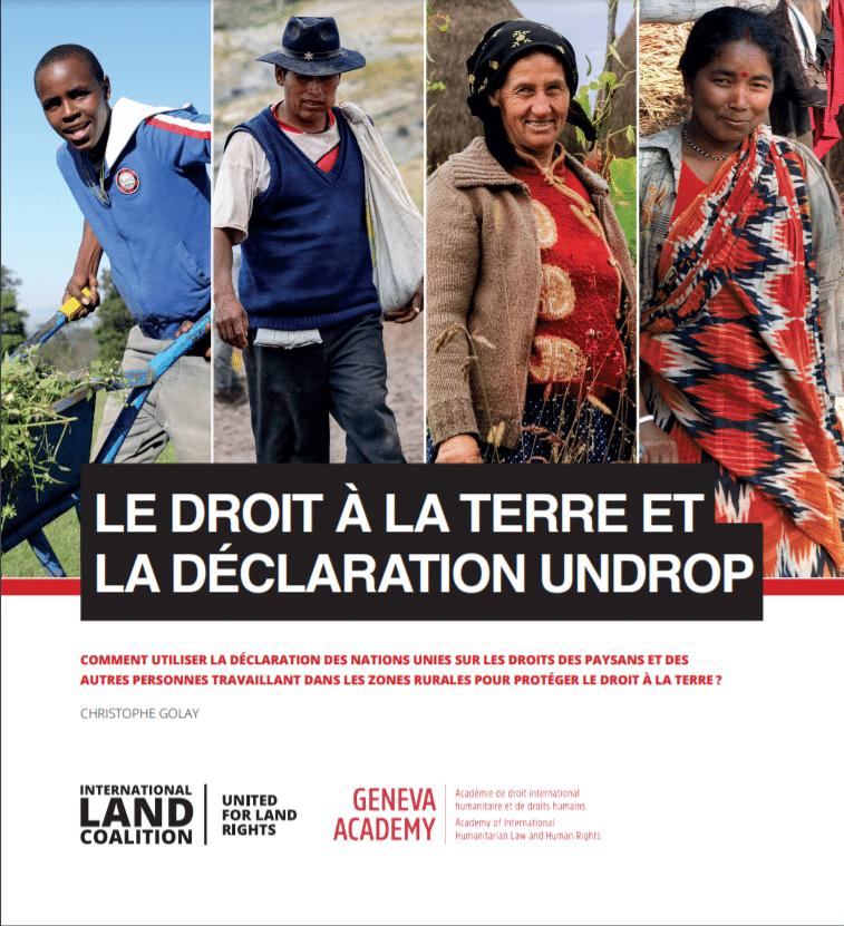 Le droit à la terre et la Déclaration des droits des paysan·ne·s