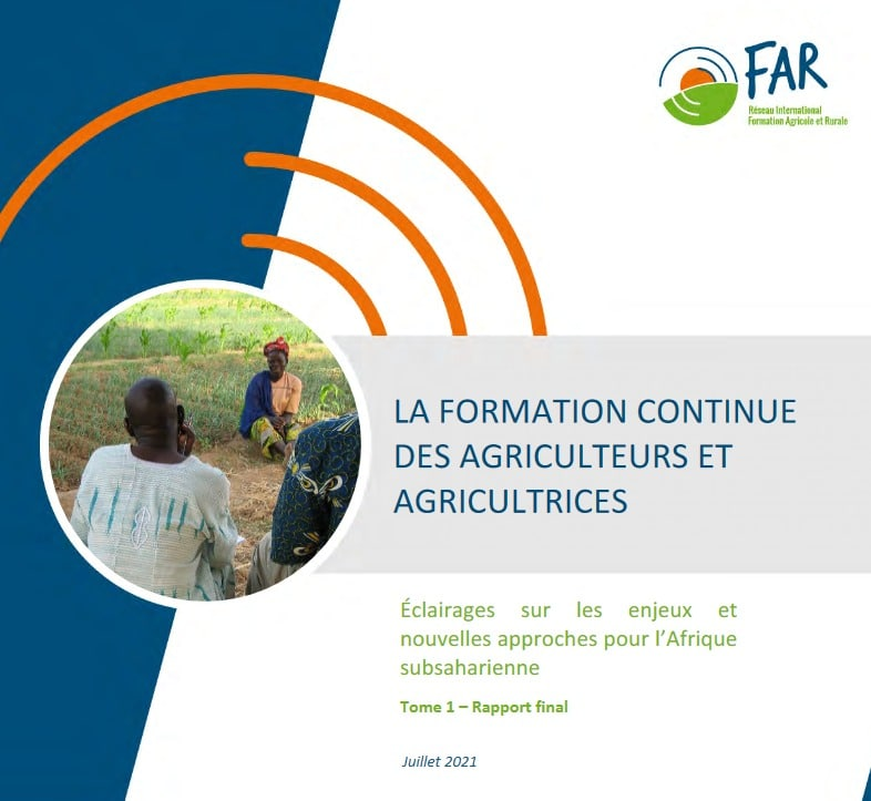 La formation continue des agriculteurs et agricultrices – éclairages sur les enjeux et nouvelles approches pour l'Afrique subsaharienne