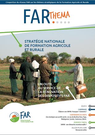 Stratégie nationale de formation agricole et rurale
