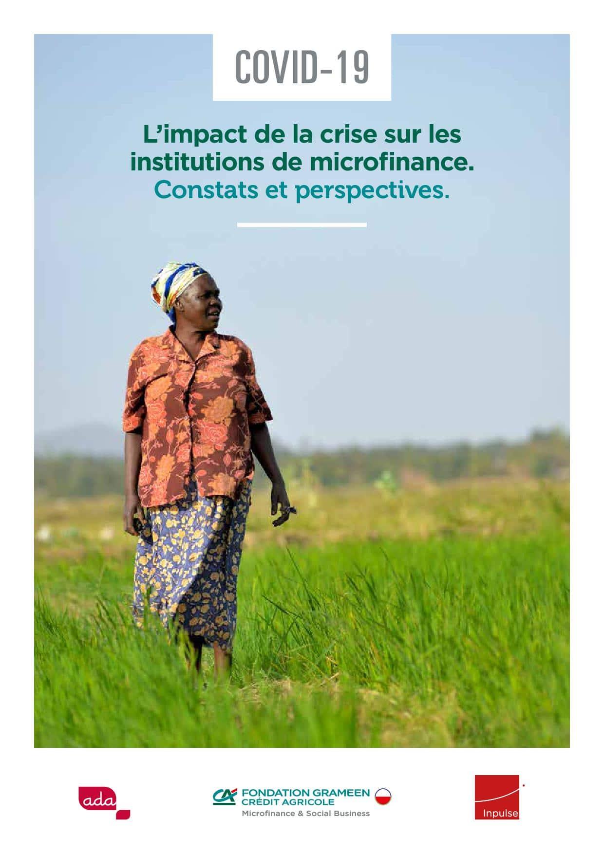 L'impact de la crise sur les institutions de microfinance