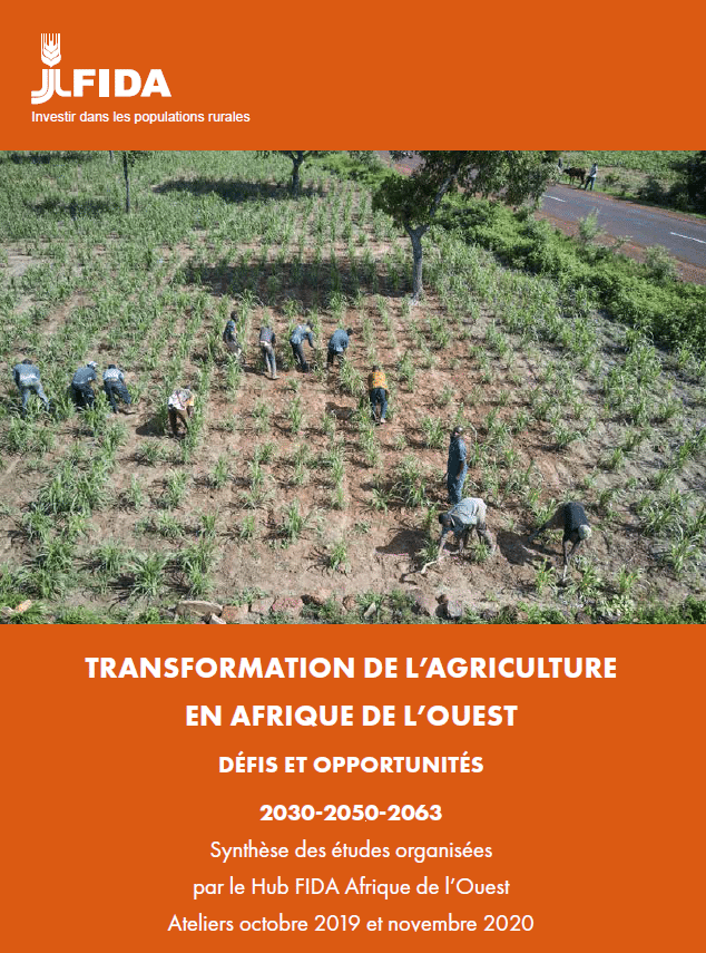 Transformation de l'agriculture en Afrique de l'Ouest - défis et opportunités (2030-2050-2063)