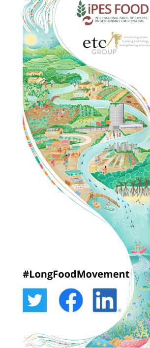 Un mouvement visionnaire pour une alimentation durable: Comment transformer nos systèmes alimentaires d'ici 2045