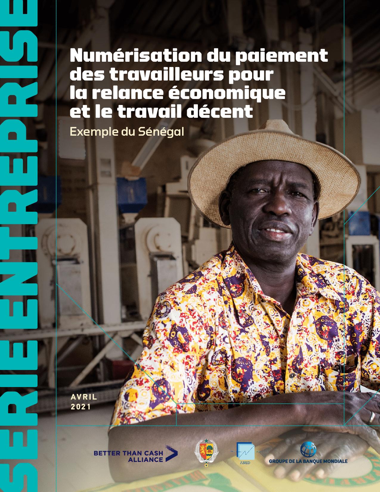 Numérisation du paiement des travailleurs pour la relance économique et le travail décent, Exemple du Sénégal