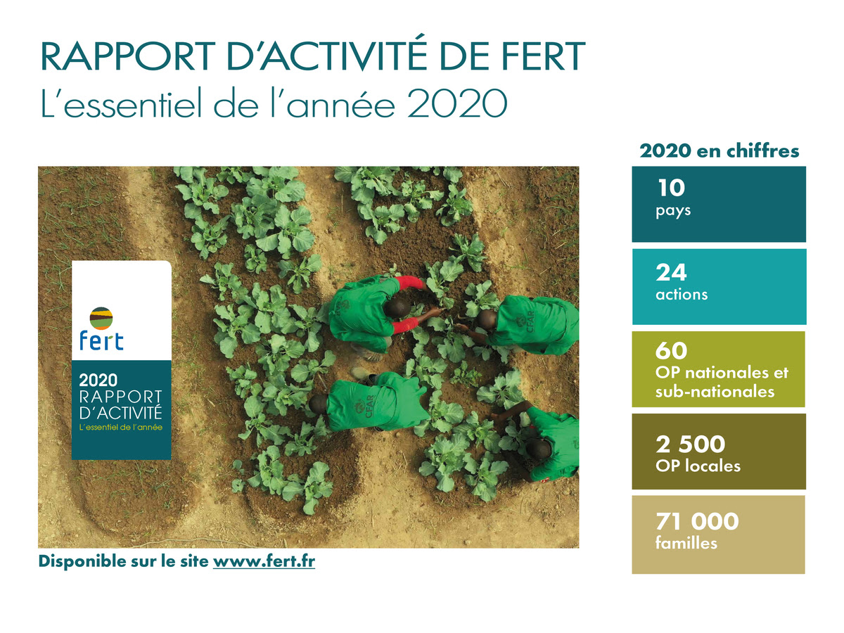 Rapport d'activité 2020 de FERT