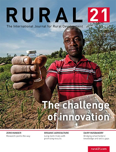 Rural 21 n°55 - The challenge of innovation