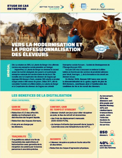 Vers la modernisation et la professionnalisation des éleveurs