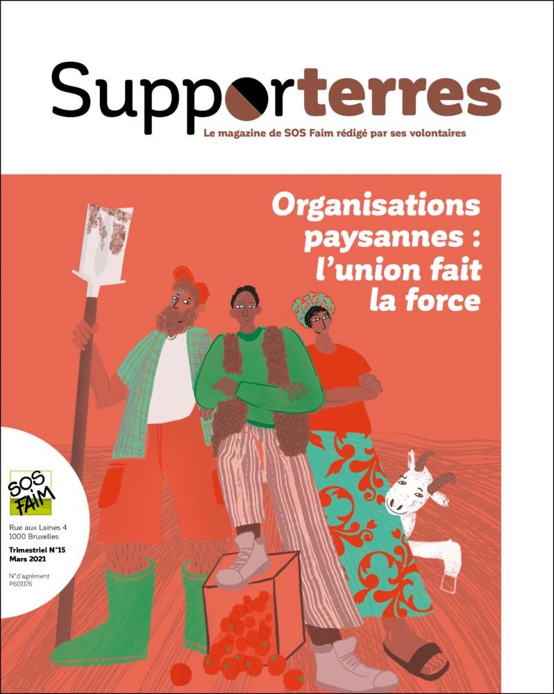Supporterres : Organisations paysannes : l'union fait la force