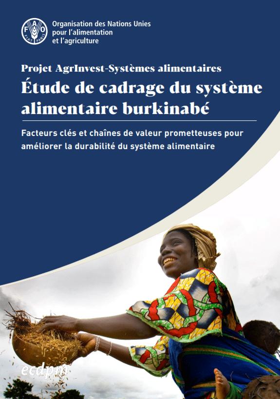 Etude de cadrage : Facteurs clés et chaînes de valeur prometteuses pour améliorer la durabilité du système alimentaire du Burkina Faso