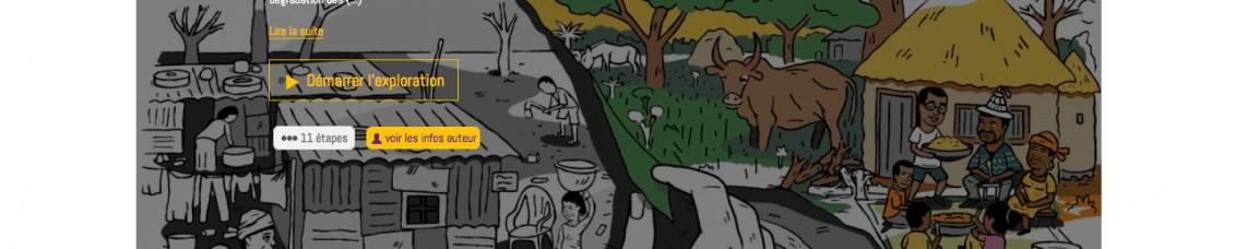 Un parcours numérique sur la désertification pour les collectivités