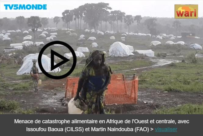 Vidéo - Menace de catastrophe alimentaire en Afrique de l'Ouest et centrale