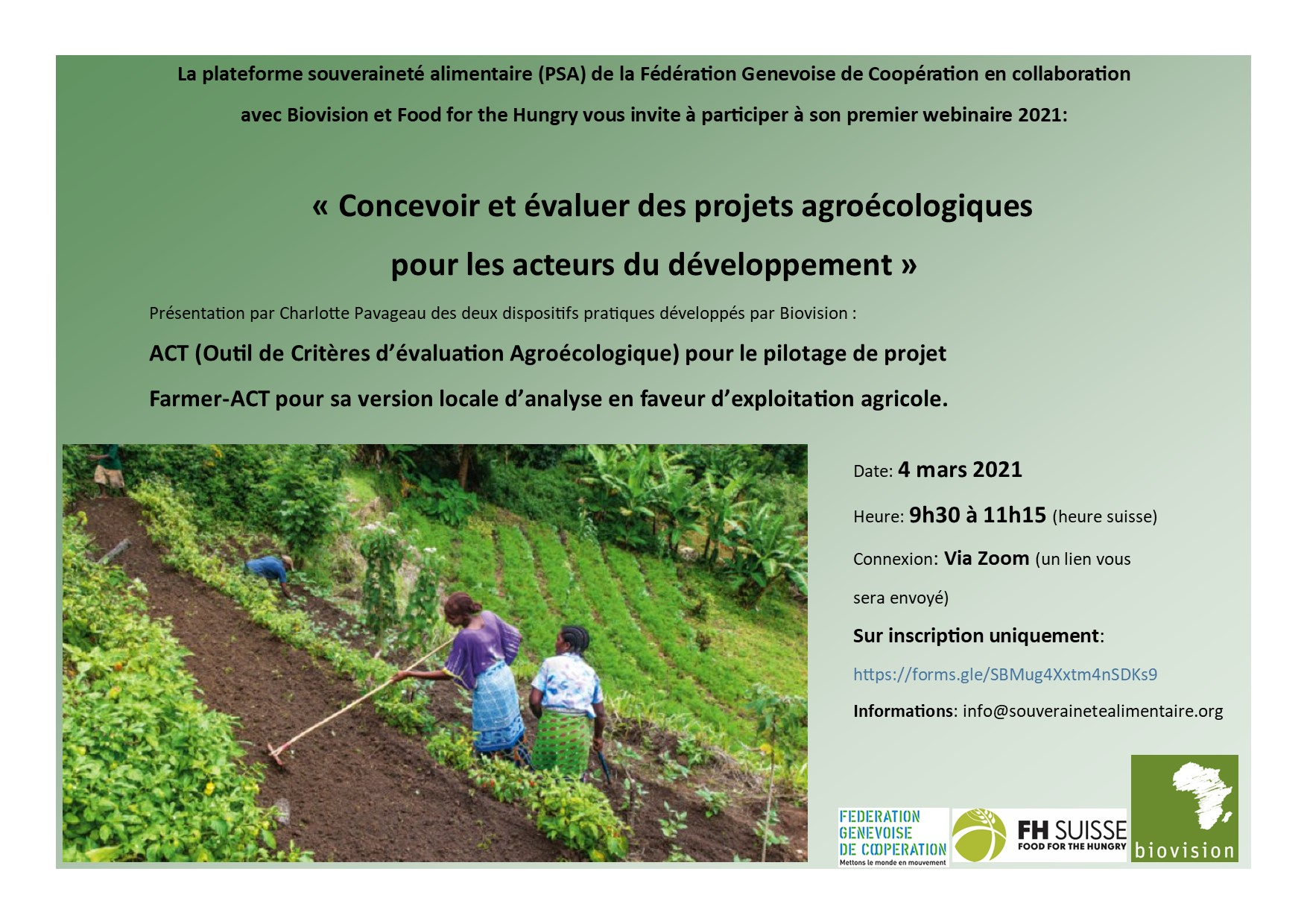 Concevoir et évaluer des projets agroécologiques