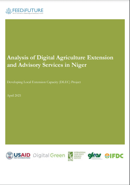 Analysis of Digital Agriculture Extension and Advisory Services in Niger