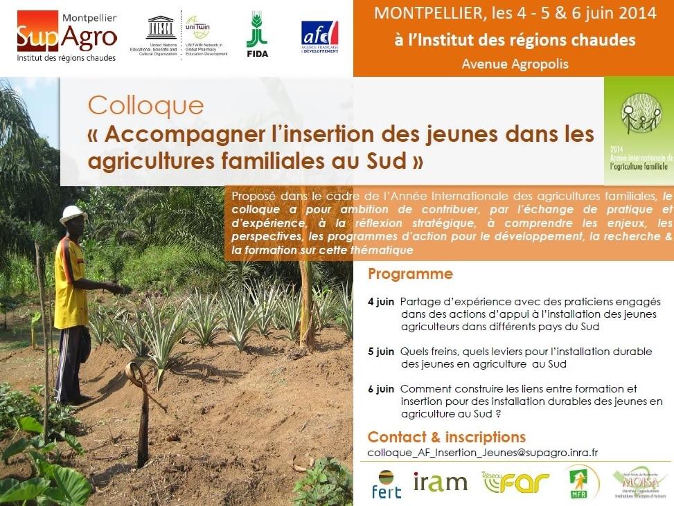 4-6 juin 2014 (Montpellier) : Colloque
