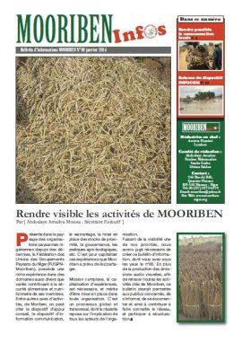 Premier bulletin d'informations de Mooriben (janvier 2014)