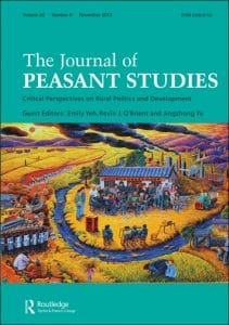 The Journal of Peasant Studies: Critical Perspectives on Rural Politics and Development
