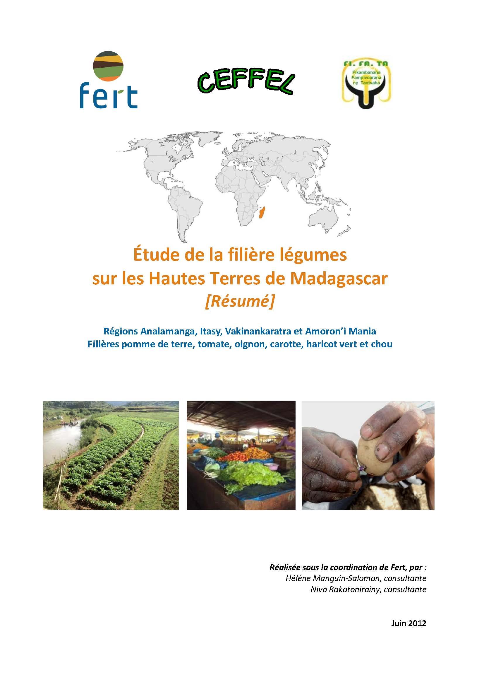 Étude de la filière légumes sur les Hautes Terres de Madagascar
