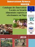 Catalogue : innovations locales en sécurité alimentaire repérées et sélectionnées au Niger