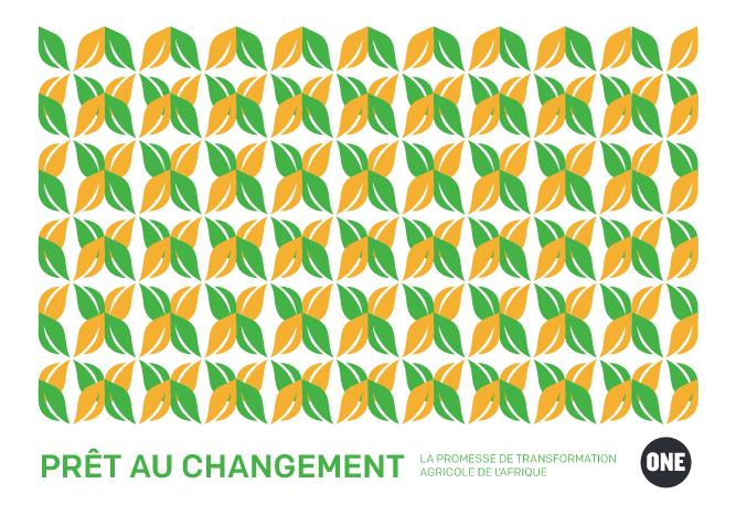 Rapport ONE: Prêt au changement: La promesse de transformation agricole de l'Afrique