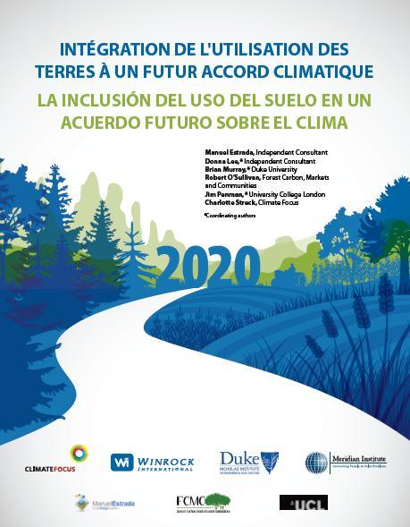 Rapport: Intégration de l'utilisation des terres à un futur accord climatique