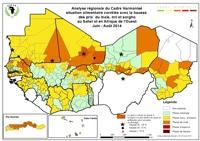 Avis sur la situation alimentaire et nutritionnelle au Sahel et en Afrique de l'Ouest au début de la période de soudure