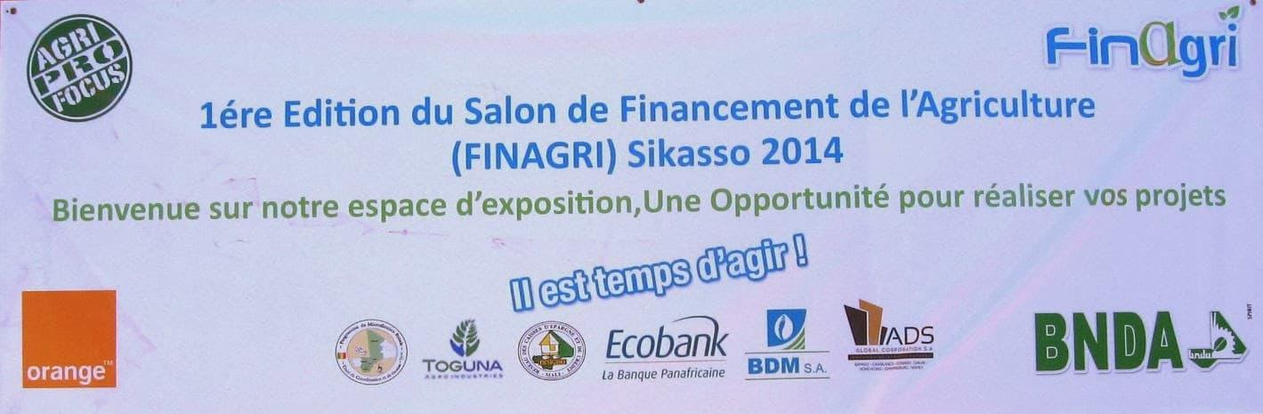 Rapport final FINAGRI : Salon du financement de l'agriculture 1ère édition Sikasso 2014