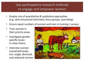 ILRI presentation : Women and livestock: Why gender matters are BIG matters