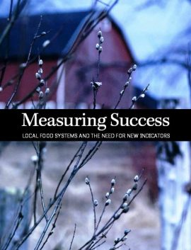 Report : Measuring success: Local food systems and the need for new indicators