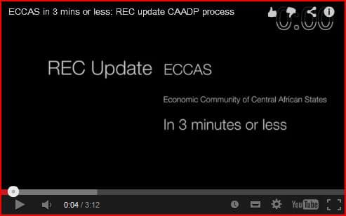 Video: Updates on the CAADP process in RECs – in 3 mins or less