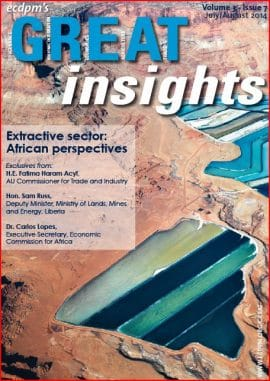 GREAT Insights : Extractive sector - African perspectives (July/August 2014)