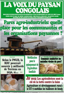 La Voix du paysan congolais n°31