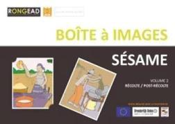 Boîtes à images sur les pratiques culturales et la récolte du sésame au Burkina Faso