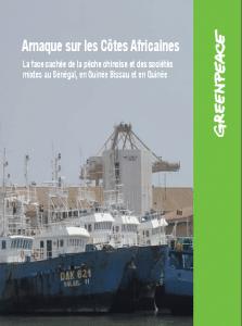 Rapport : La face cachée de la pêche chinoise et des sociétés mixtes au Sénégal