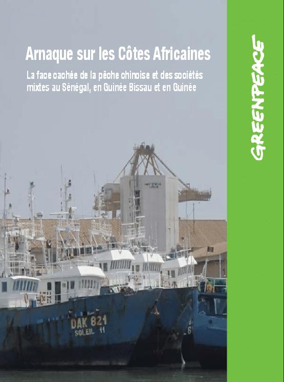 Rapport : La face cachée de la pêche chinoise et des sociétés mixtes au Sénégal, en Guinée Bissau et en Guinée