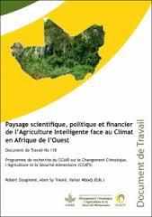 Publication : Paysage scientifique, politique et financier de l'Agriculture Intelligente face au Climat en Afrique de l'Ouest