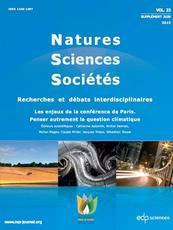 Revue : Les enjeux de la conférence de Paris. Penser autrement la question climatique
