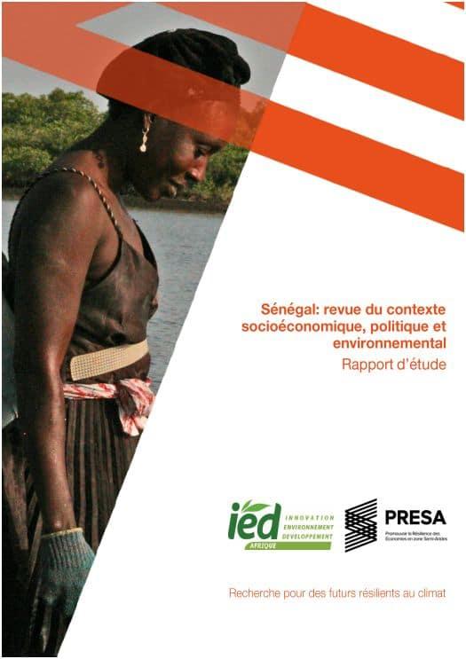 Etude : Revue du contexte socio-économique, politique et environnemental du Sénégal