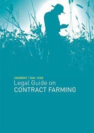 Guide juridique sur l'agriculture contractuelle UNIDROIT/FAO/FIDA