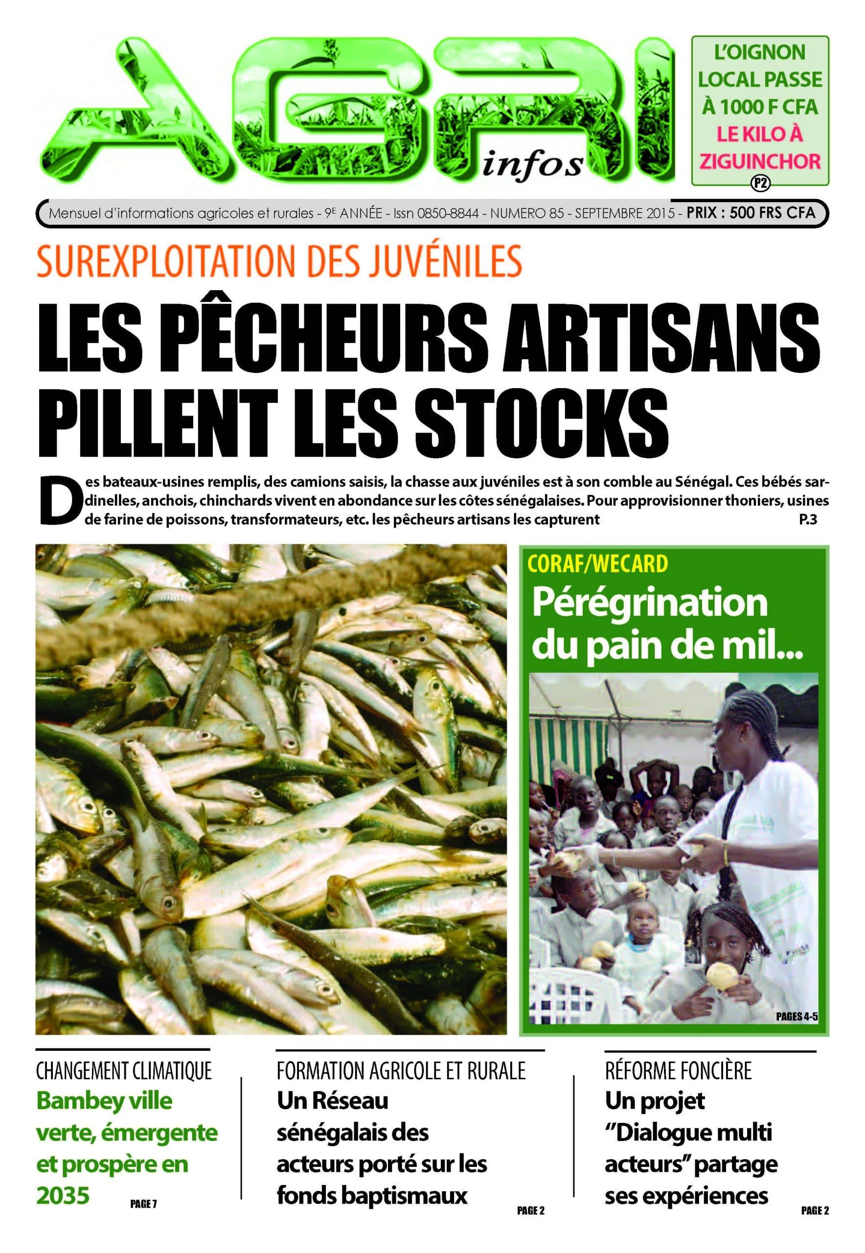 Agri Infos n°85 (septembre 2015)