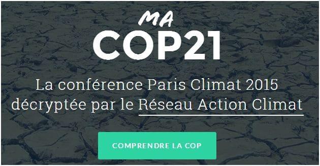 Un blog pour comprendre la COP 21 et les enjeux du changement climatique