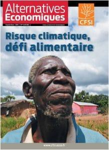 Revue Alternatives économiques : Risque climatique