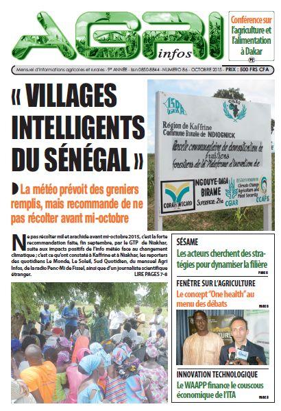 Agri Infos n°86 - octobre 2015