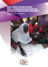 Rapport : Quels défis l'accord de Paris doit-il relever pour répondre aux besoins des populations africaines ?