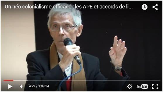 Vidéo : les APE et les accords de libre échange