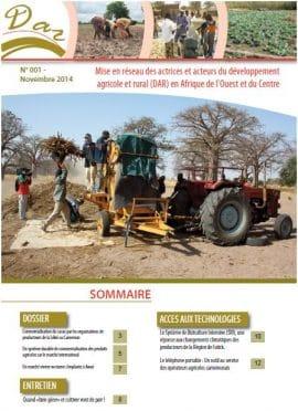 Des expériences locales de développement agricole et rurale en Afrique de l'Ouest et du Centre